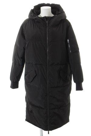 Hallhuber Winterjacke schwarz klassischer Stil