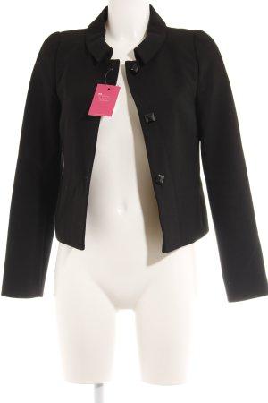 Hallhuber Woll-Blazer schwarz Elegant