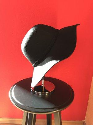 Hallhuber Cappello di lana nero Lana