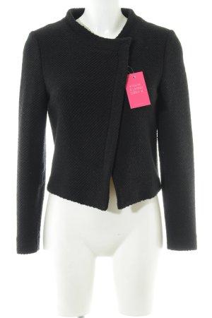 Hallhuber Wool Jacket black casual look