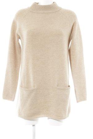 Hallhuber Wollkleid beige Casual-Look