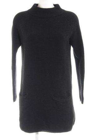 Hallhuber Wollkleid schwarz schlichter Stil