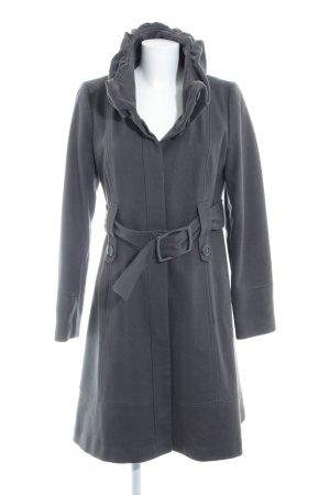 Hallhuber Wool Coat grey brown casual look