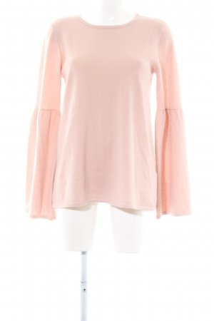 Hallhuber Wollpullover pink Casual-Look