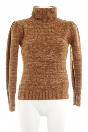 Hallhuber Wollpullover meliert Casual-Look