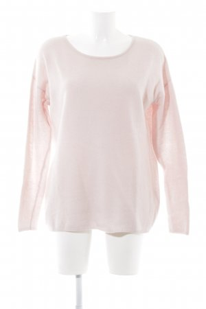 Hallhuber Wollpullover rosé Casual-Look
