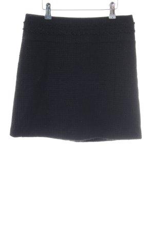 Hallhuber Gonna di lana nero stile professionale