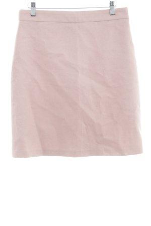 Hallhuber Gonna di lana rosa antico-rosa pallido stile professionale