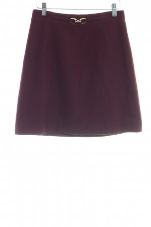 Hallhuber Wool Skirt bordeaux business style