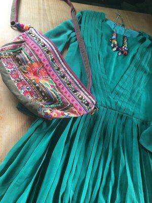 *HALLO FRÜHLING*Neues langärmeliges Designer Kleid von SKUNKFUNK - GREEN, Bloggerstyle, Gr. SMALL, NP: EUR 190