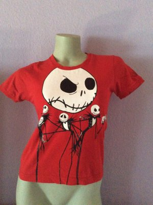 Halloween T-Shirt The Nightmare before Christmas rot Gr. S Disney
