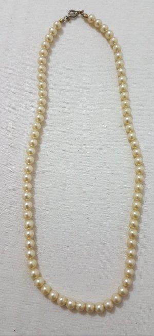 Hals Kette perlen länge 45 cm
