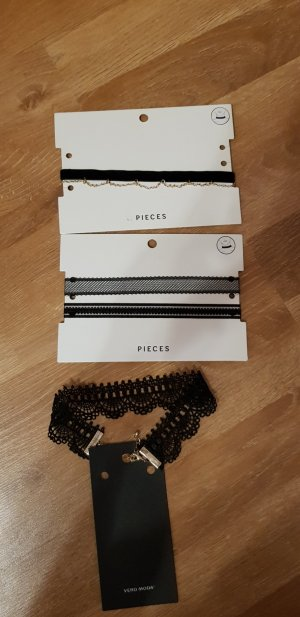Pieces Collier noir