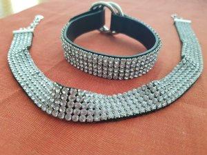 Hals- und Armkette von Swarovski