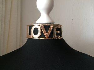 Halsband aus Metall LOVE