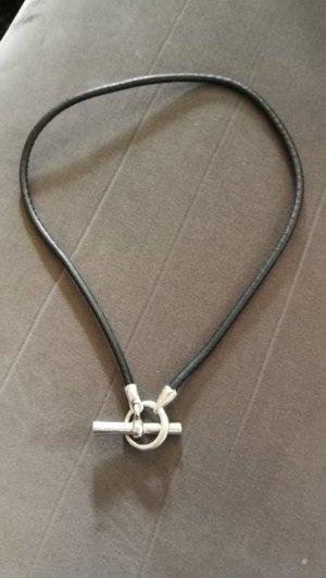 Bracelet noir-argenté