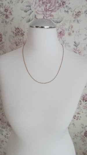 Necklace gold-colored real gold