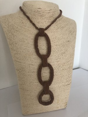 Necklace bronze-colored