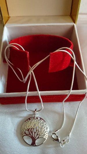Halskette 925 mit Anhänger ,Medaillons