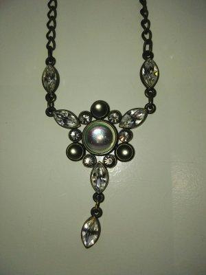 Swarovski Necklace bronze-colored