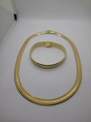 Halskette Armreif Gold Farben Edel