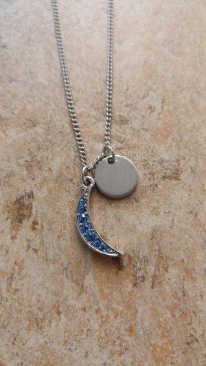 Asos Collana argento-azzurro