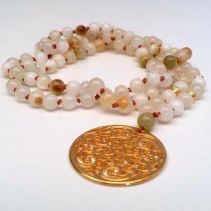 Halskette aus Achat