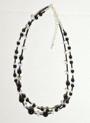Collier noir-blanc
