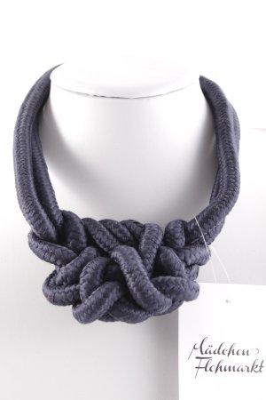 Halskette blau Street-Fashion-Look