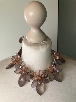 H&M Collier incrusté de pierres multicolore