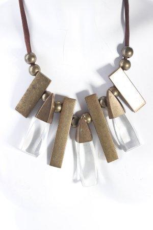Collana bronzo-marrone scuro