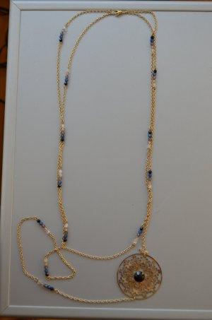 Halskette bronzefarbend