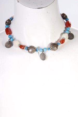Halskette bunte Steine