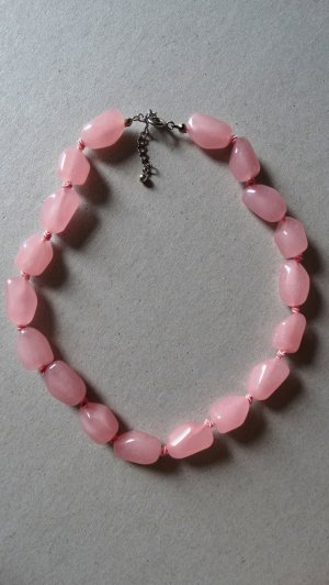 Necklace pink-light pink