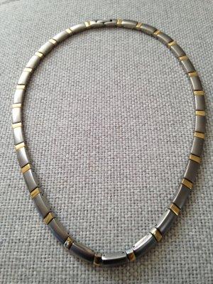 Boccia Necklace silver-colored