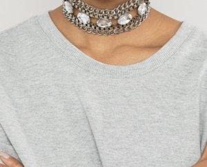 Halskette / Choker mit Strass von DesignB London