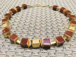 Collar estilo collier multicolor