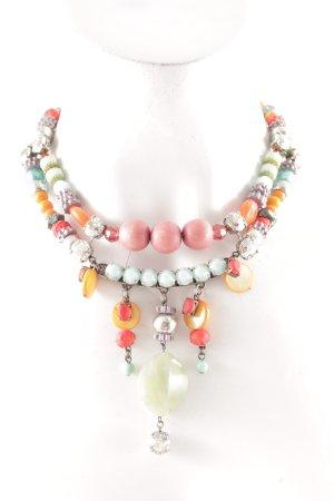 Halskette Ethnomuster Boho-Look