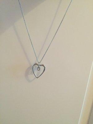 Halskette Fossil Herz