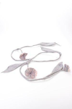 Halskette gefilzt Blumen