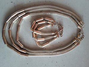 Halskette gold mit passendem Armband