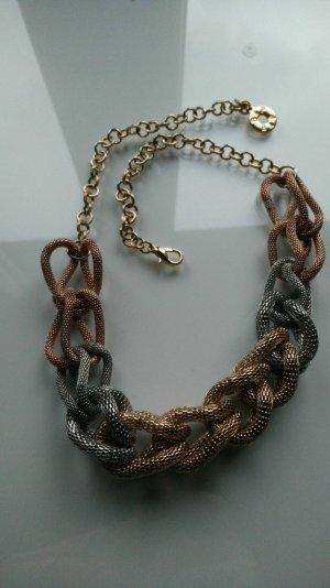 Halskette Gold/Silber /Rose