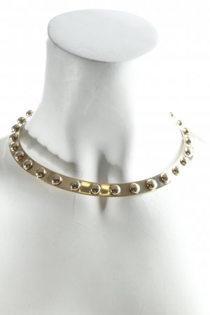 Halskette goldfarben Biker-Look