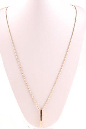 Halskette goldfarben klassischer Stil
