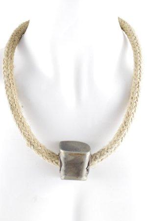 Halskette goldfarben-sandbraun Casual-Look