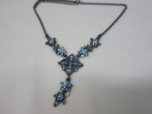 Collier Necklace light blue-grey