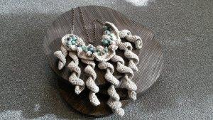 Necklace multicolored cotton