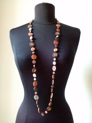 Collar marrón oscuro-naranja oscuro