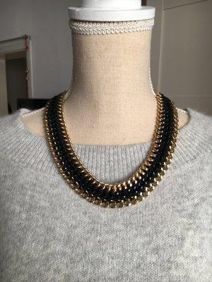 Collar negro-marrón arena