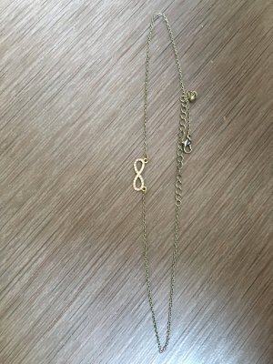 Claires Necklace gold-colored
